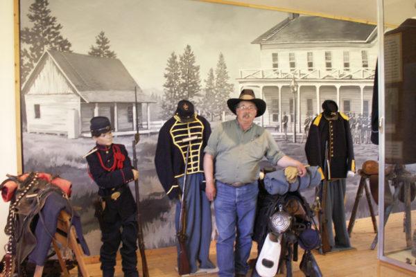 Kevin, Fort Klamath Museum